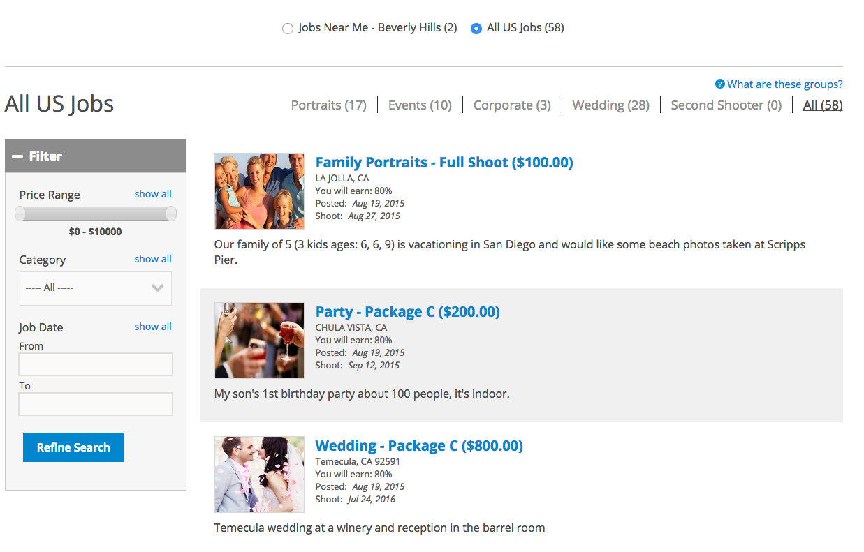 Online dating business revenue