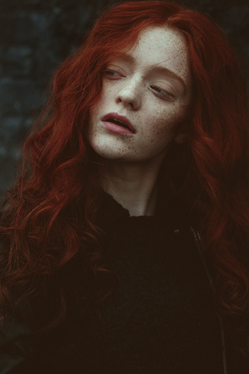 Red haired mary