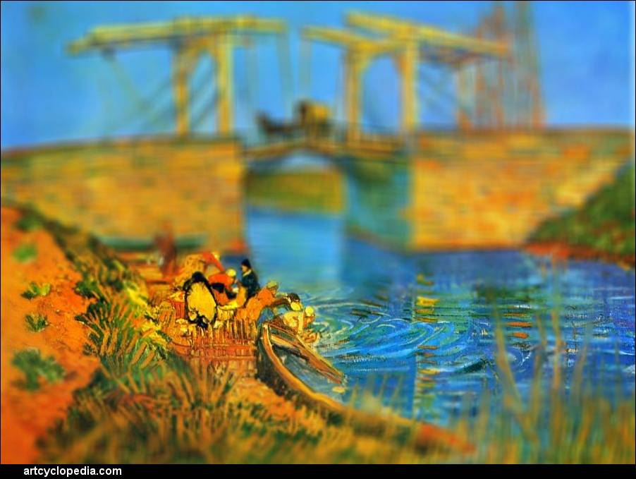 Surprisingly Realistic Tilt-Shift Images of Van Gogh's ... - photo#41