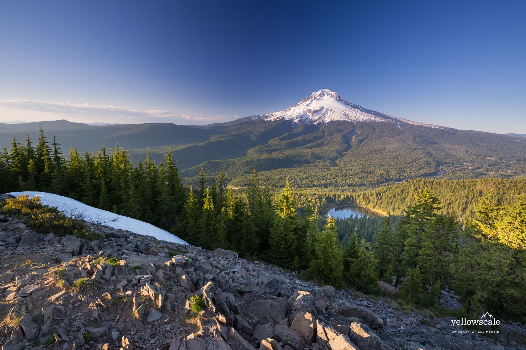 Mount Hood from Tom Dick and Harry, Oregon