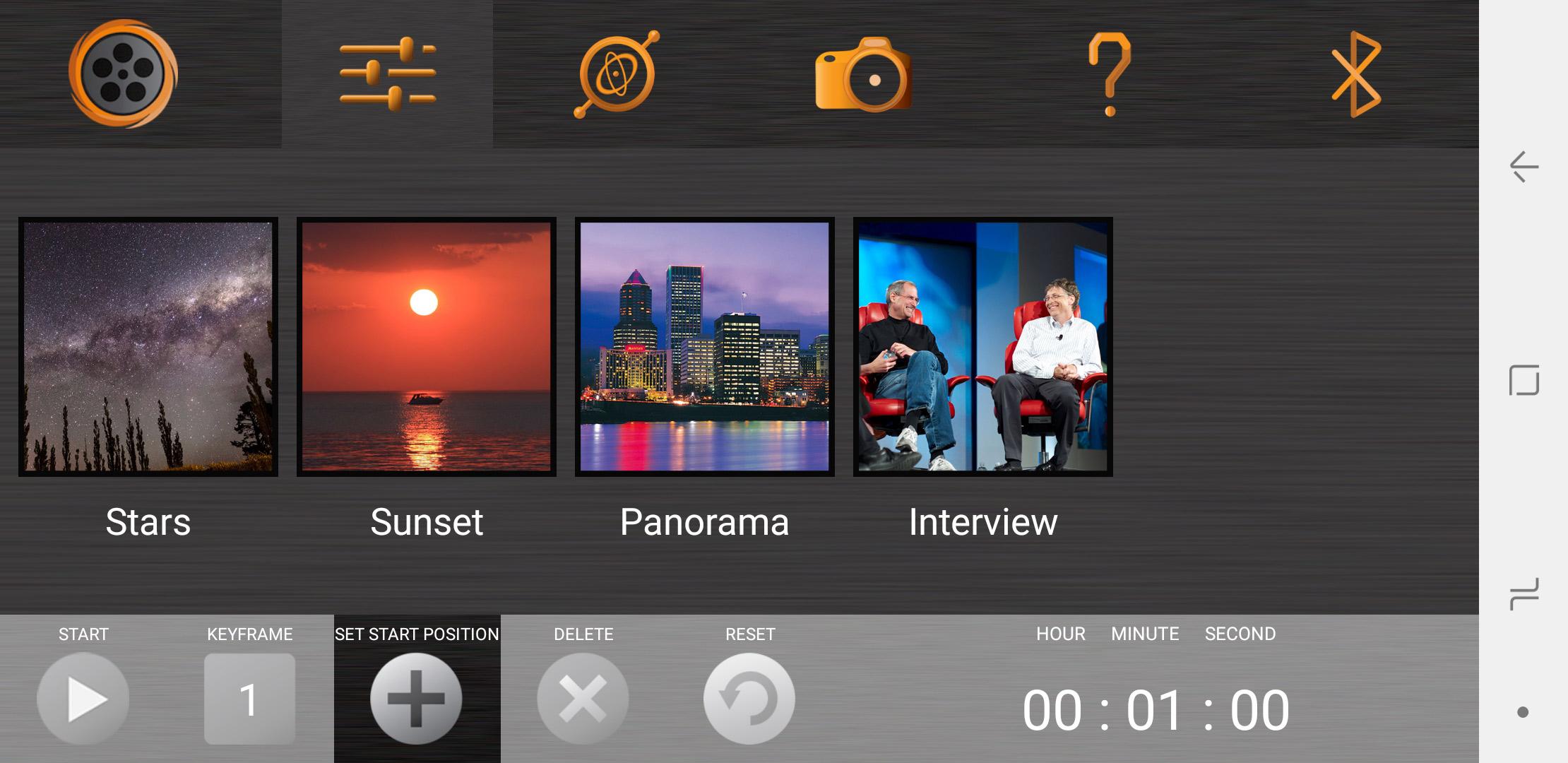 Cinetics Lynx App Modes