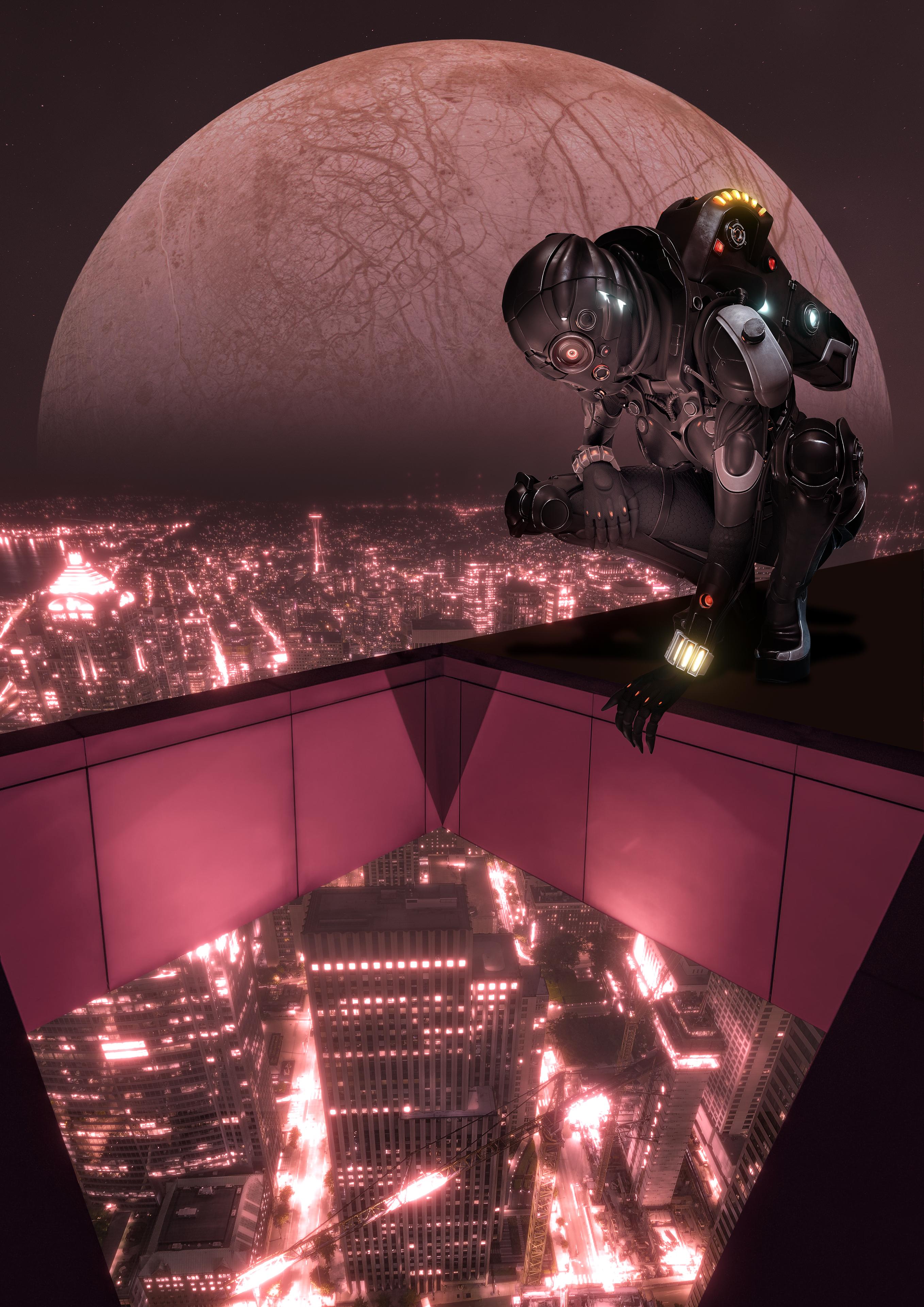 oniric cityglow composite - Create a Metropolis Glow With the Oniric Plugin
