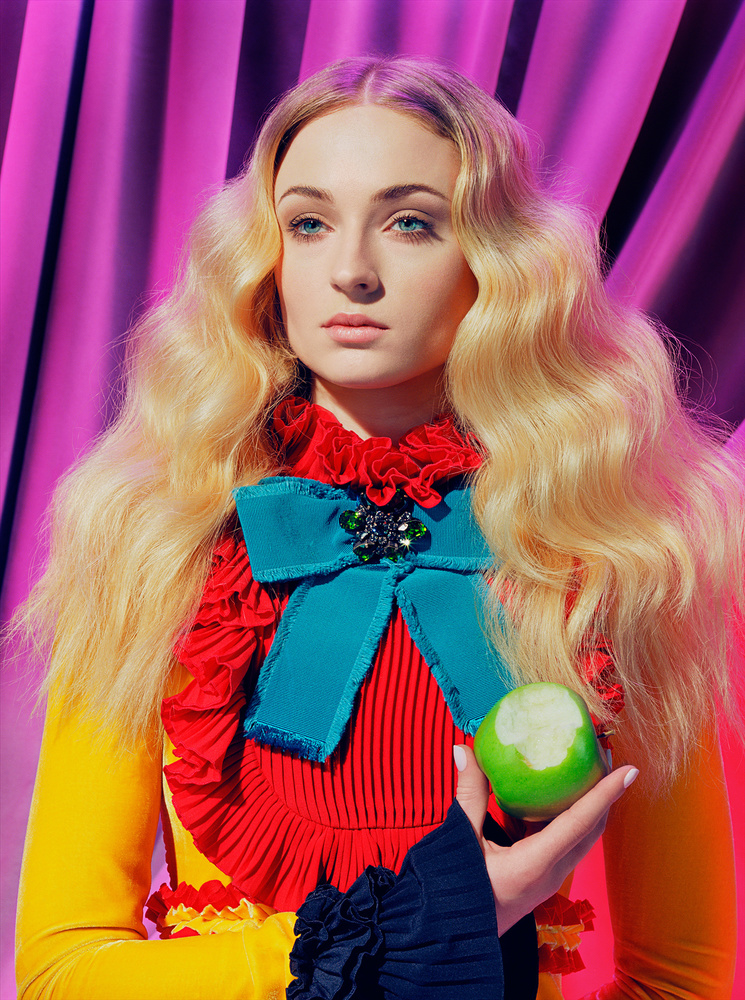 sophie turner sansa stark game of thrones time magazine miles aldridge