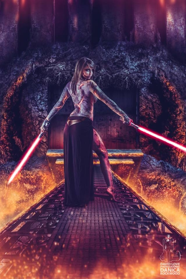 How To Create A Realistic Lightsaber In Photoshop Fstoppers