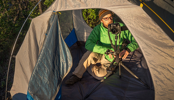 panasonic gh4 lumix fstoppers review mike wilkinson outdoor tent camping video production