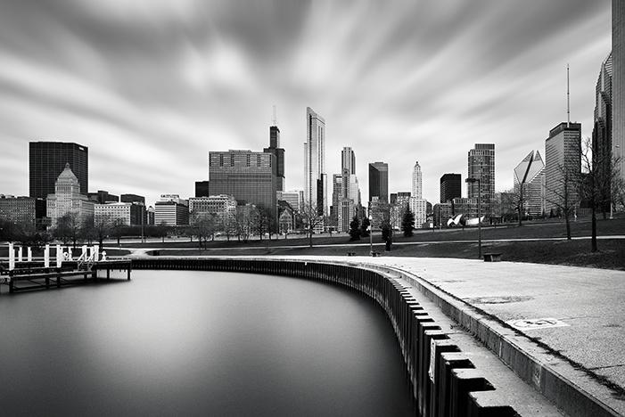 Chicago Skyline by Michael Woloszynowicz
