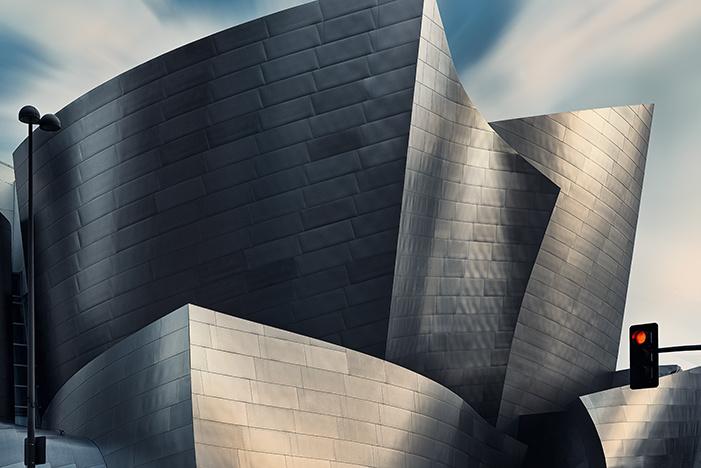 Walt Disney Concert Hall by Michael Woloszynowicz