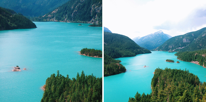 Diablo Lake Moment Wide vs Tele