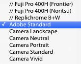 Camera Profiles - Nikon D800