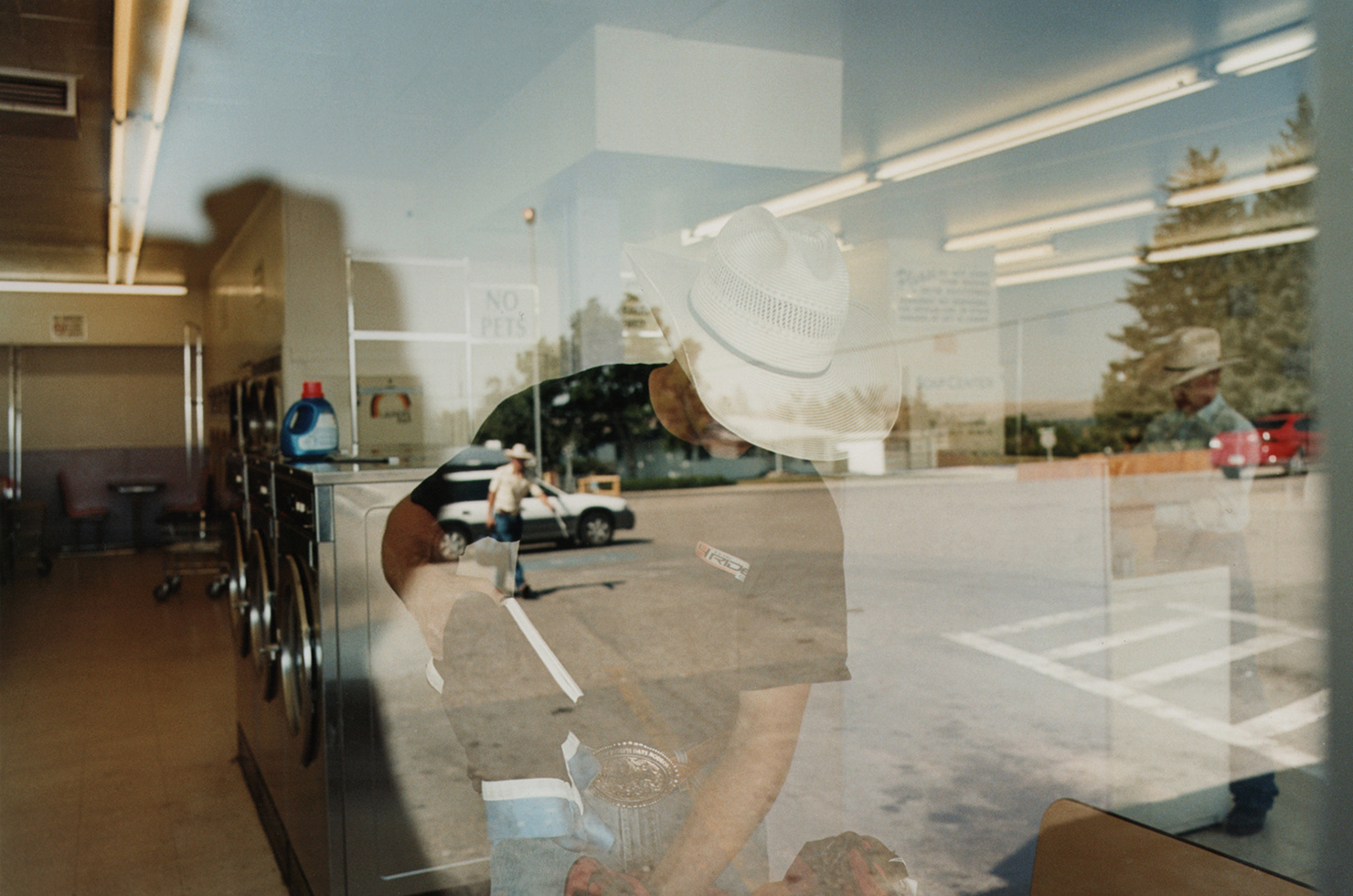 seven year photographic project documents small town life in the preferring to shoot film richmond primarily used a large format camera for last best hiding place first orienting himself by exploring a town and
