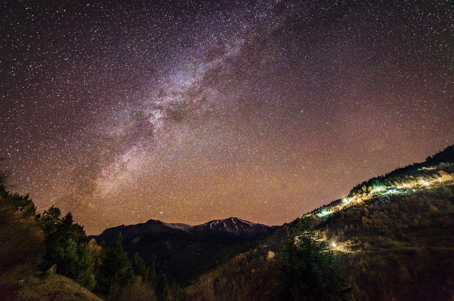 Set of the Milky Way