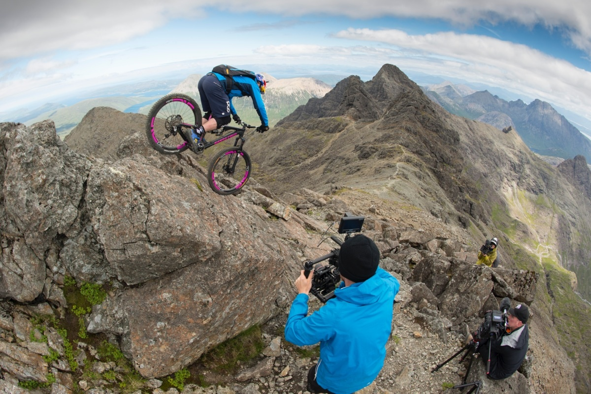 bts the ridge danny macaskill photo
