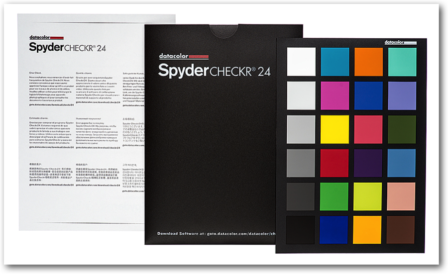 The New Datacolor Spydercheckr 24 Camera Color Correction For Photo