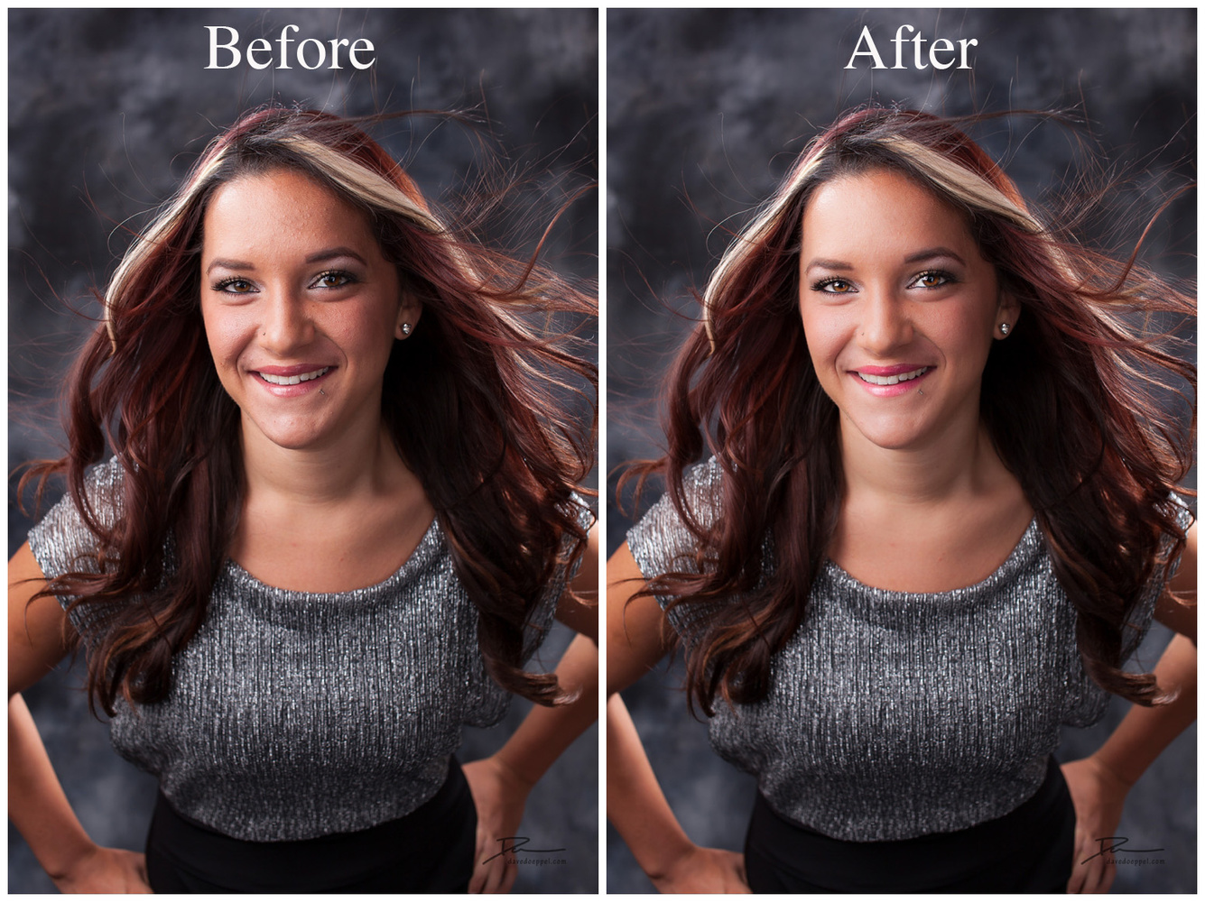 retouching lightroom