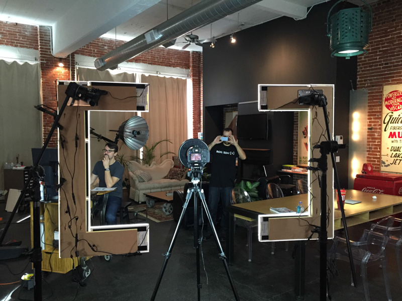 Turn Virtually Any Logo Into A Photo Booth Catch Light