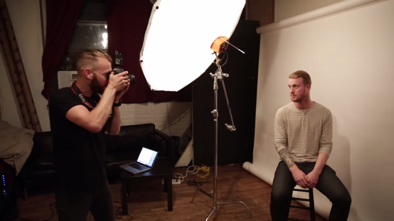 Tinder headshots behind-the-scenes, Max Schartz