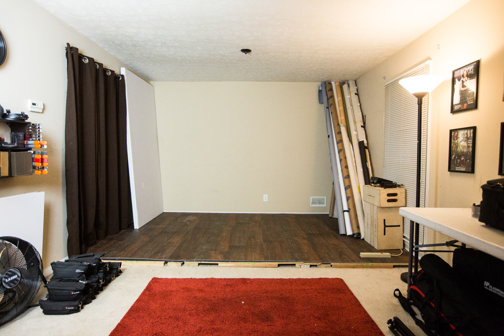 Transform your living room into a practical studio and for Studio living room