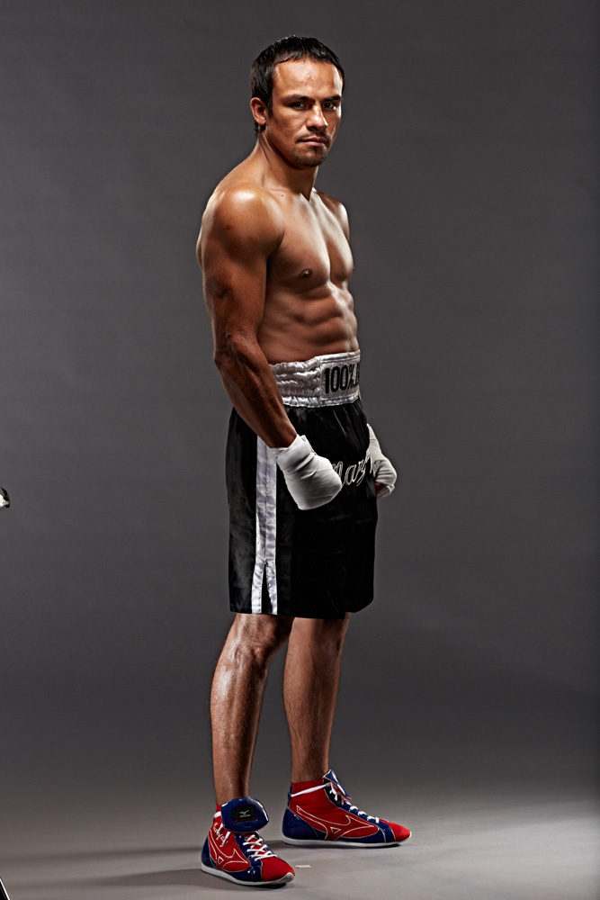 Unretouched photo of Juan Manuel Marquez photo by Monte Isom