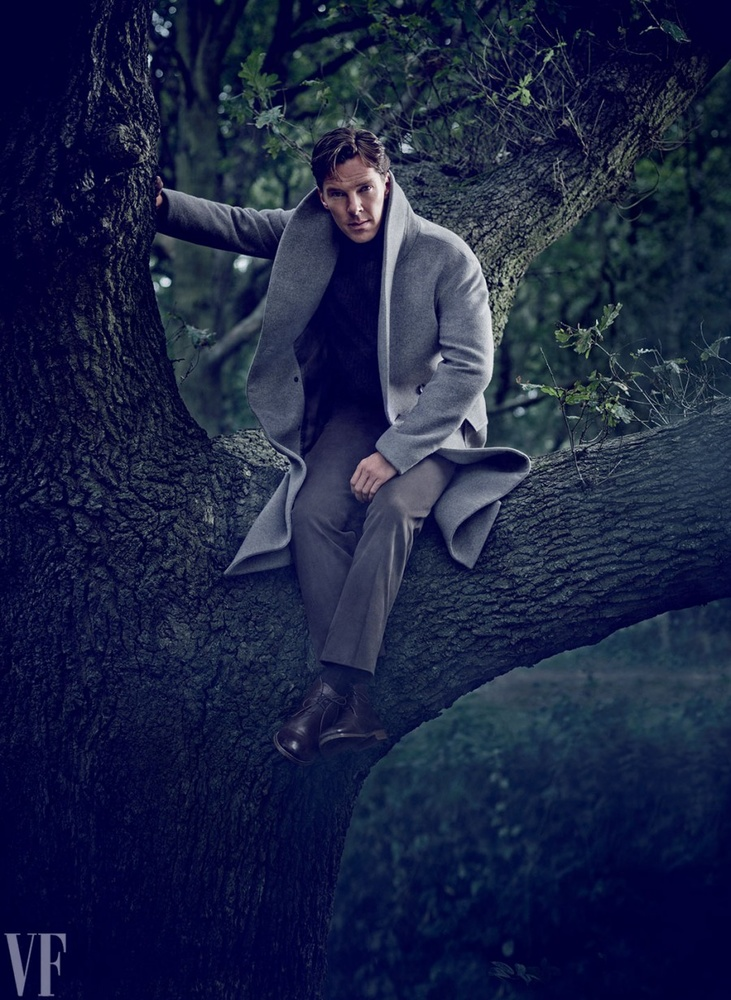 Behind The Scenes Photo Shoot With Benedict Cumberbatch For Vanity Fair Fstoppers