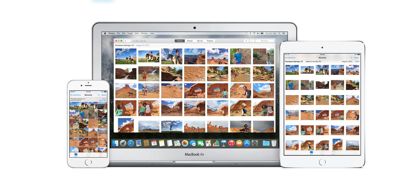 Apple Photos iCloud integration