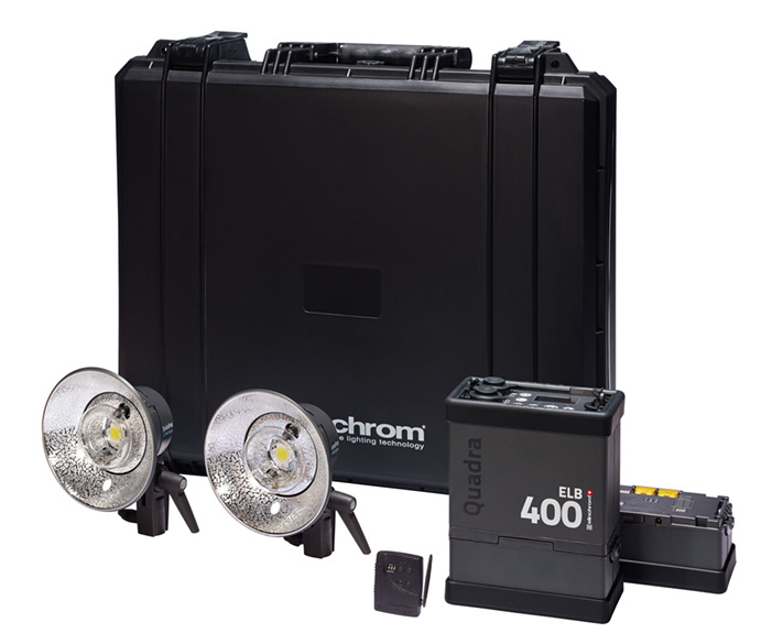 Elinchrom Frx 400 Studio Lighting Kit: Elinchrom's New Portrable Strobe Announced