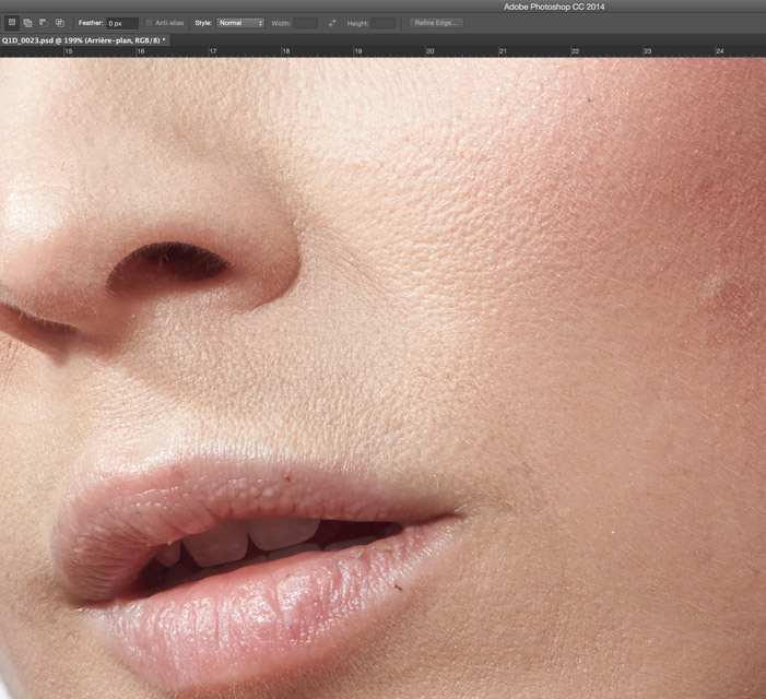 how to make skin look good in photoshop