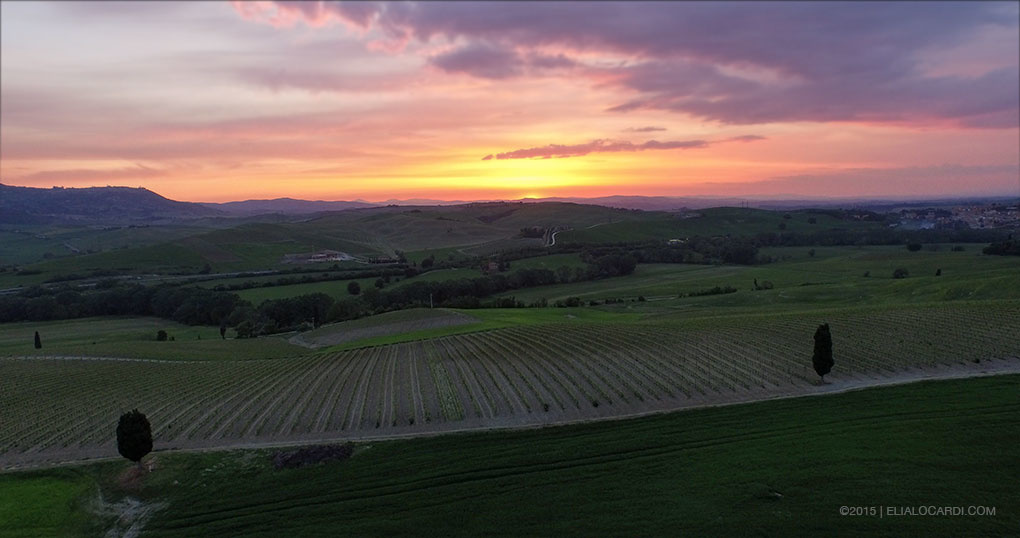 DJI Phantom 3 Review - Tuscany After Example