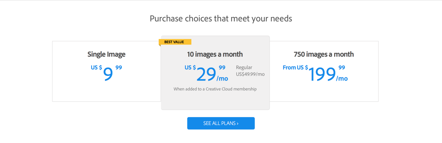 Adobe Announces New Stock Image Service | Fstoppers