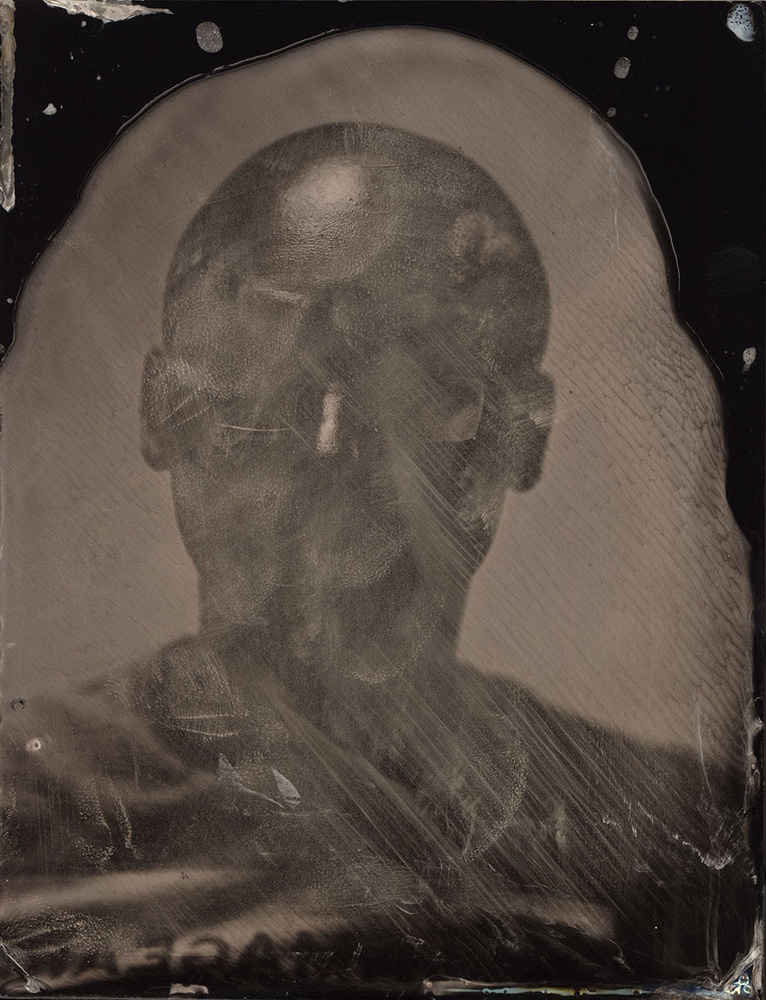 First exposure in collodion process