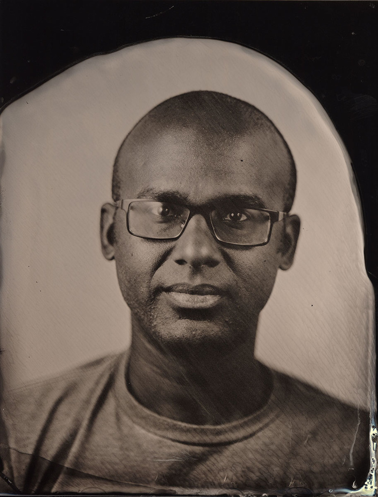 Third exposure in collodion process