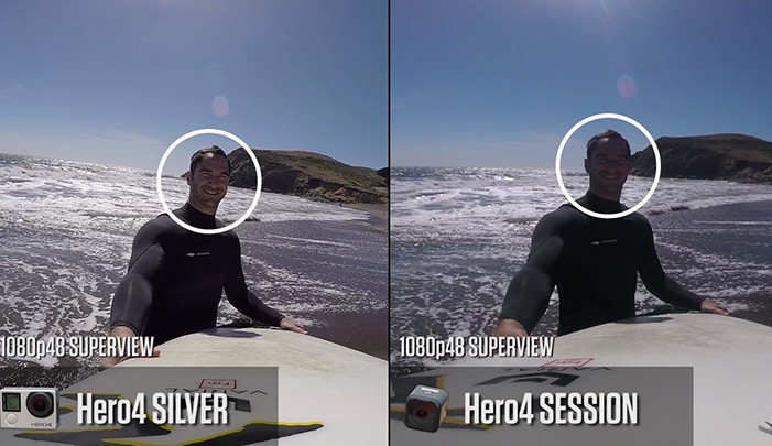 WIREDs Review Of The New GoPro HERO4 Session Reveals Some Minor Problems And A Dip In Quality
