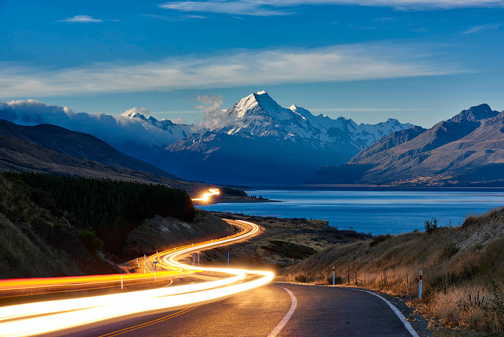 Landscape Photography Video Tutorial After - New Zealand