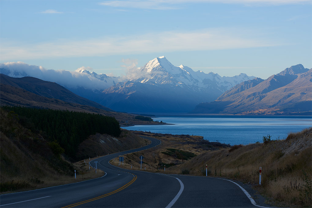Landscape Photography Video Tutorial Before - New Zealand