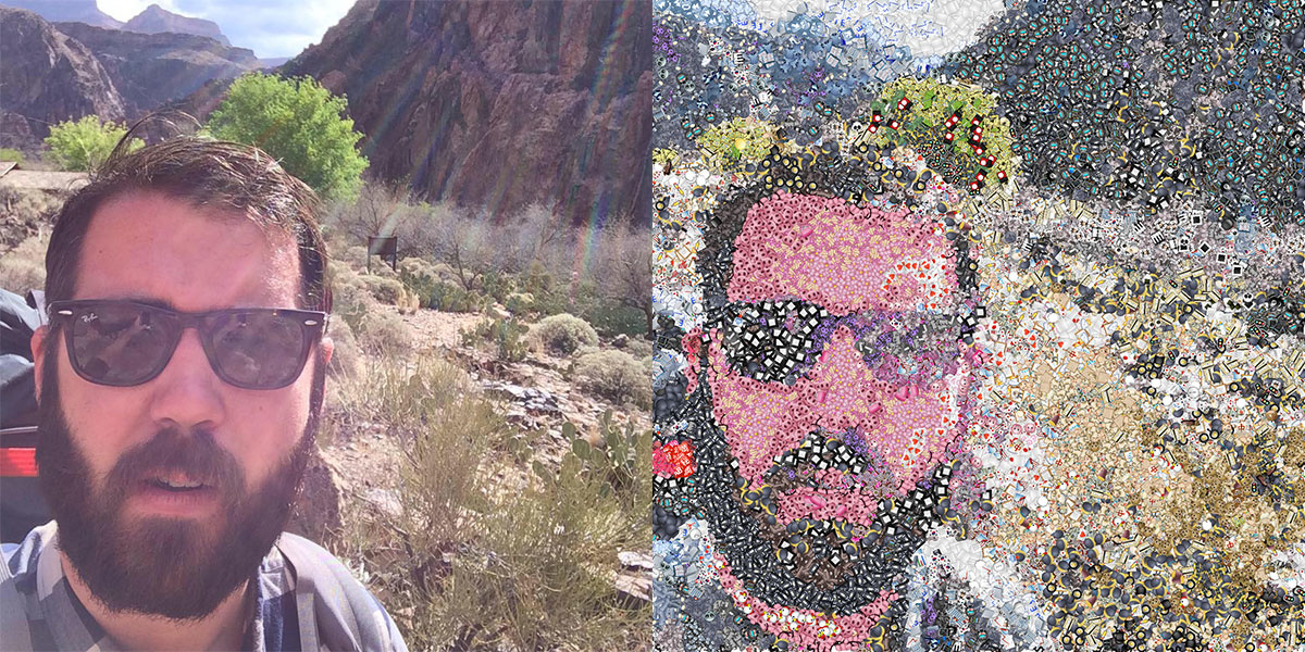Selfie Mosaic Photoshop Fstoppers
