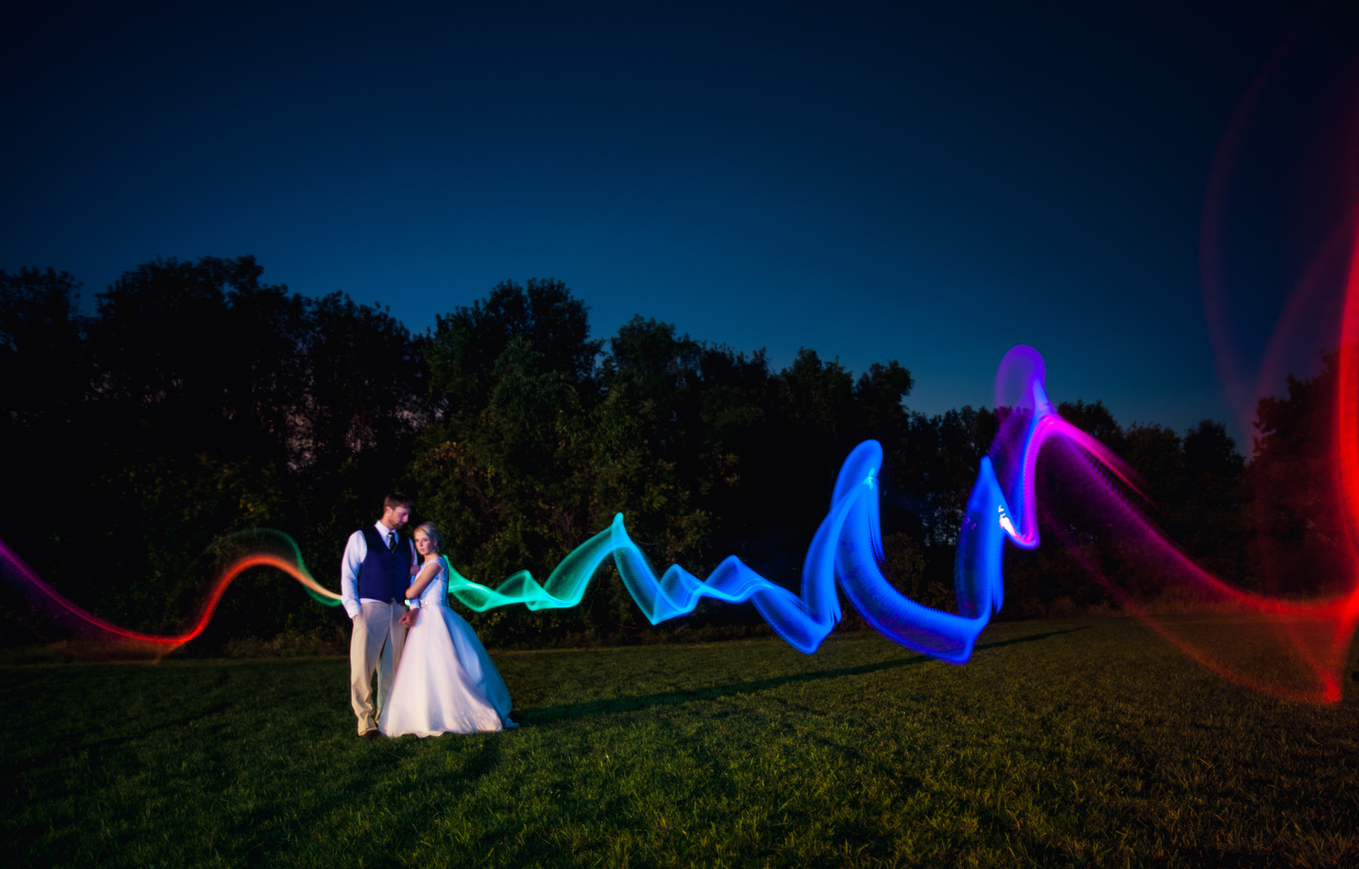 How to Incorporate Night Photography Into the Wedding Day  Fstoppers