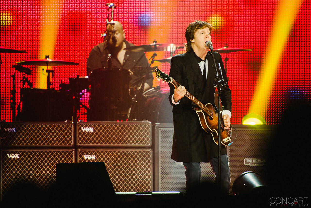 Photo of Paul McCartney @ Bankers Life Field House — Indianapolis, Indiana