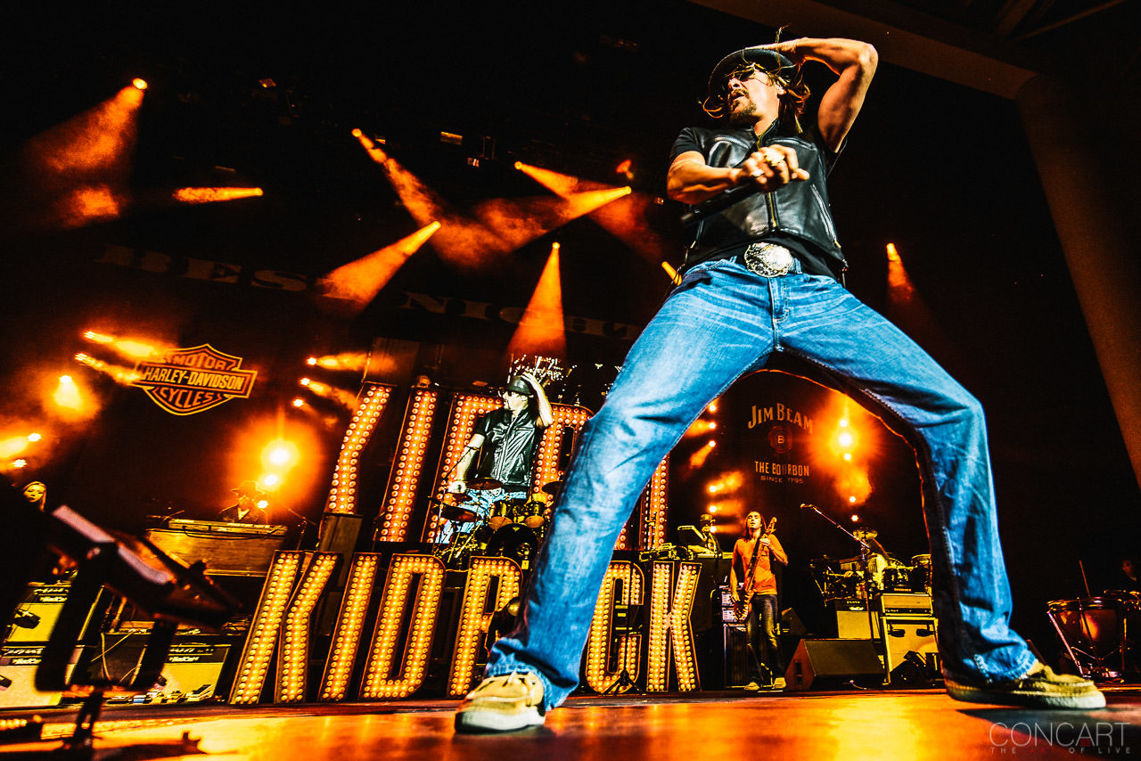 Photo of Kid Rock @ Klipsch Music Center — Indianapolis, Indiana