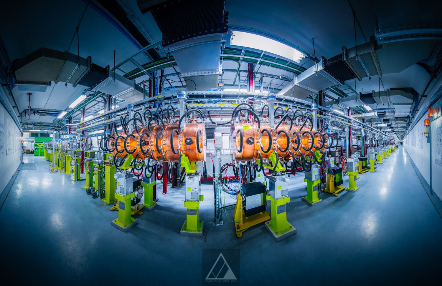 The LINAC4 accelerator - Photo by Andrew Hara