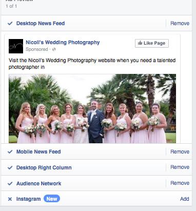 Nicoll S Wedding Photography Instagram Ads Through Facebook