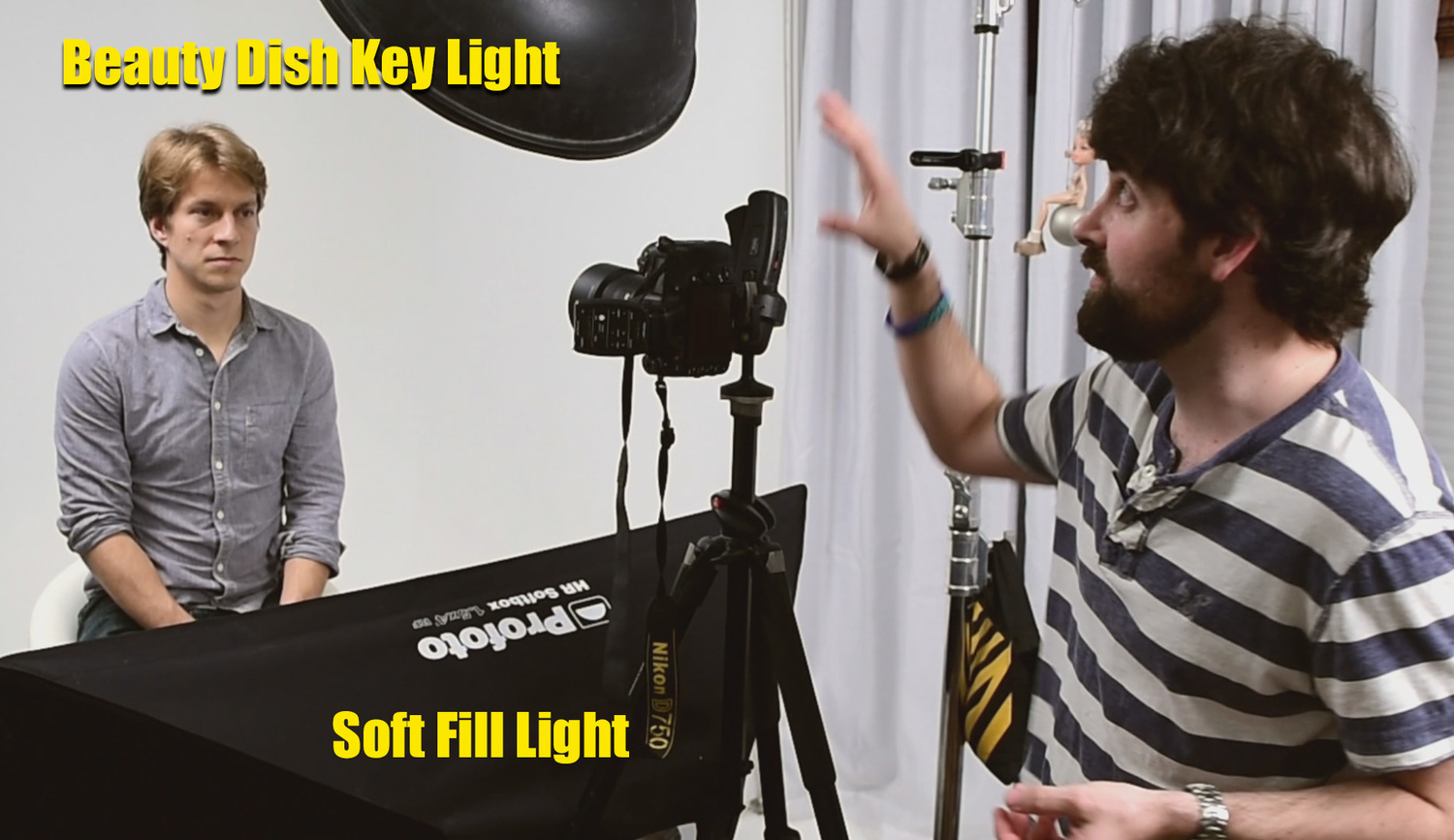 sc 1 st  Fstoppers & How to Photograph a Headshot With Clam Shell Lighting | Fstoppers azcodes.com