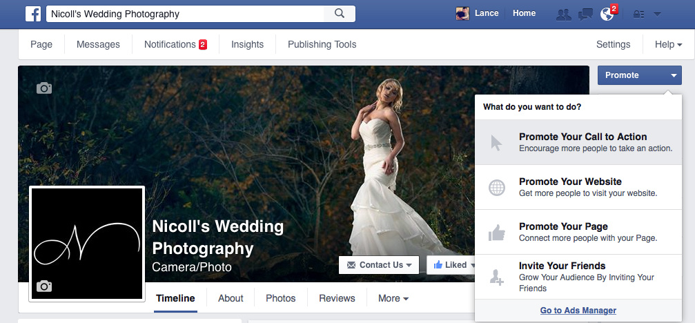 Nicoll S Wedding Photography Instagram Ads Through Facebook