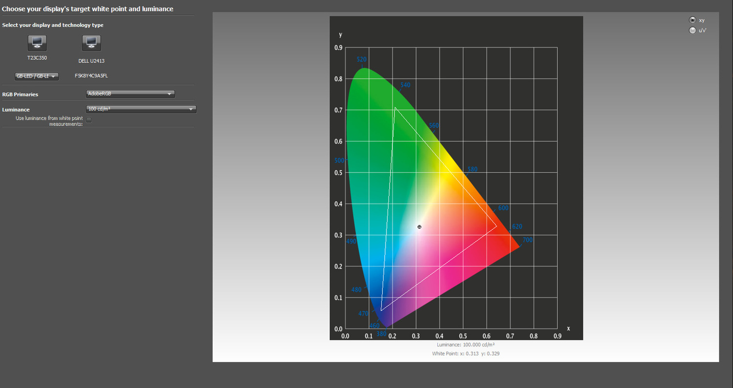 Hardware LUT Calibration for Dell Wide-Gamut Monitors