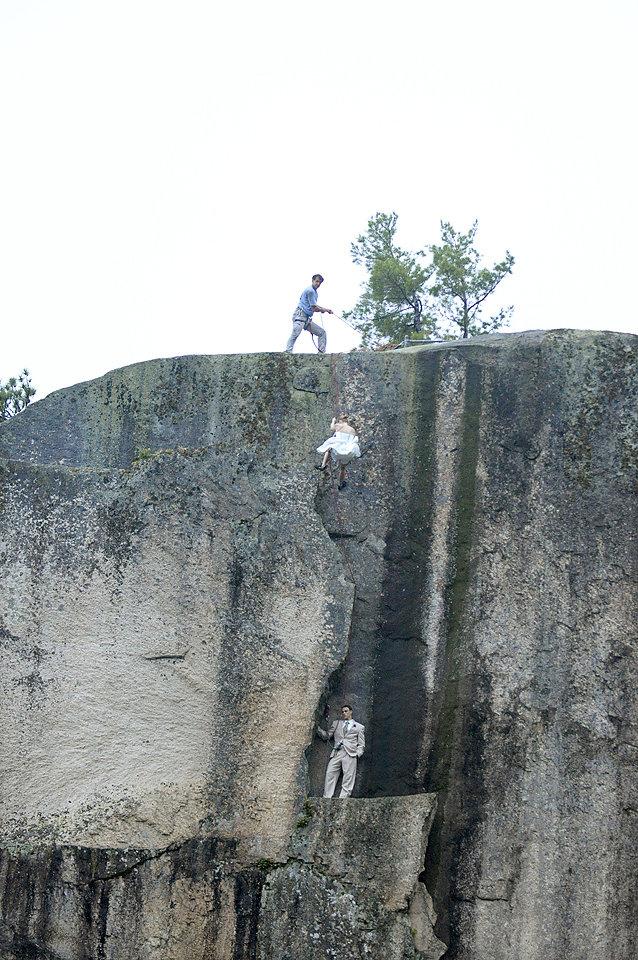 Couple-Bridal-Portrait-Cliff-Safety