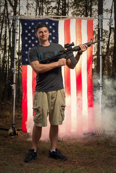 Photographs of Americans and Their Christmas Guns | Fstoppers
