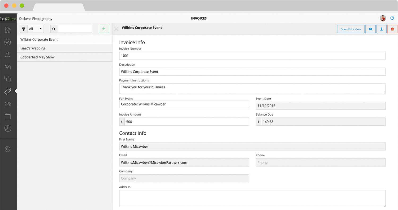 fotoclient-invoice-view