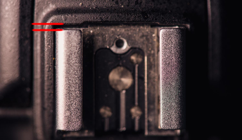 Nikon Hot Shoe Repair