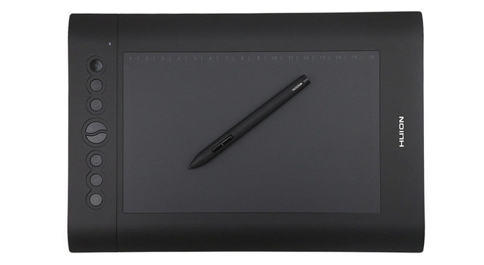 Tablette graphique Huion H610Pro