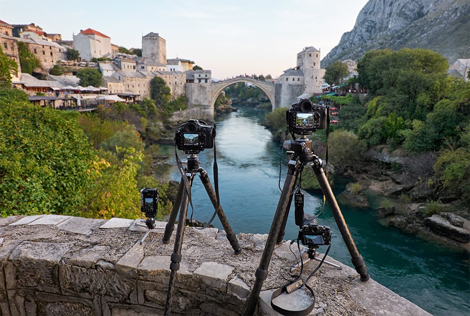 The Moments Between in Mostar by Elia Locardi