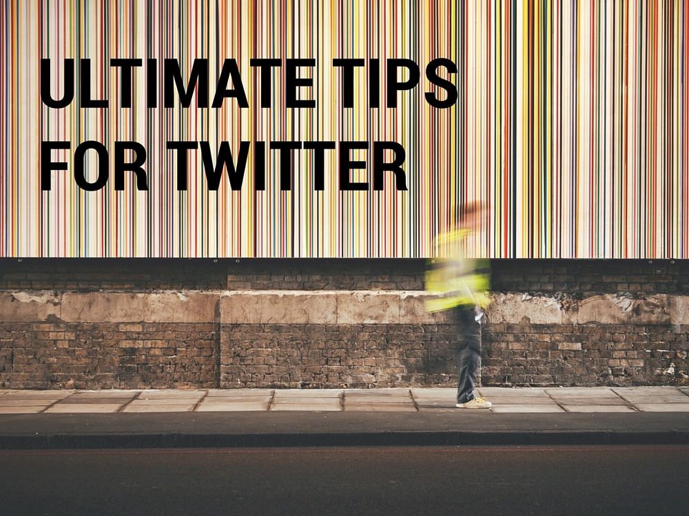 twitter tips for photographers