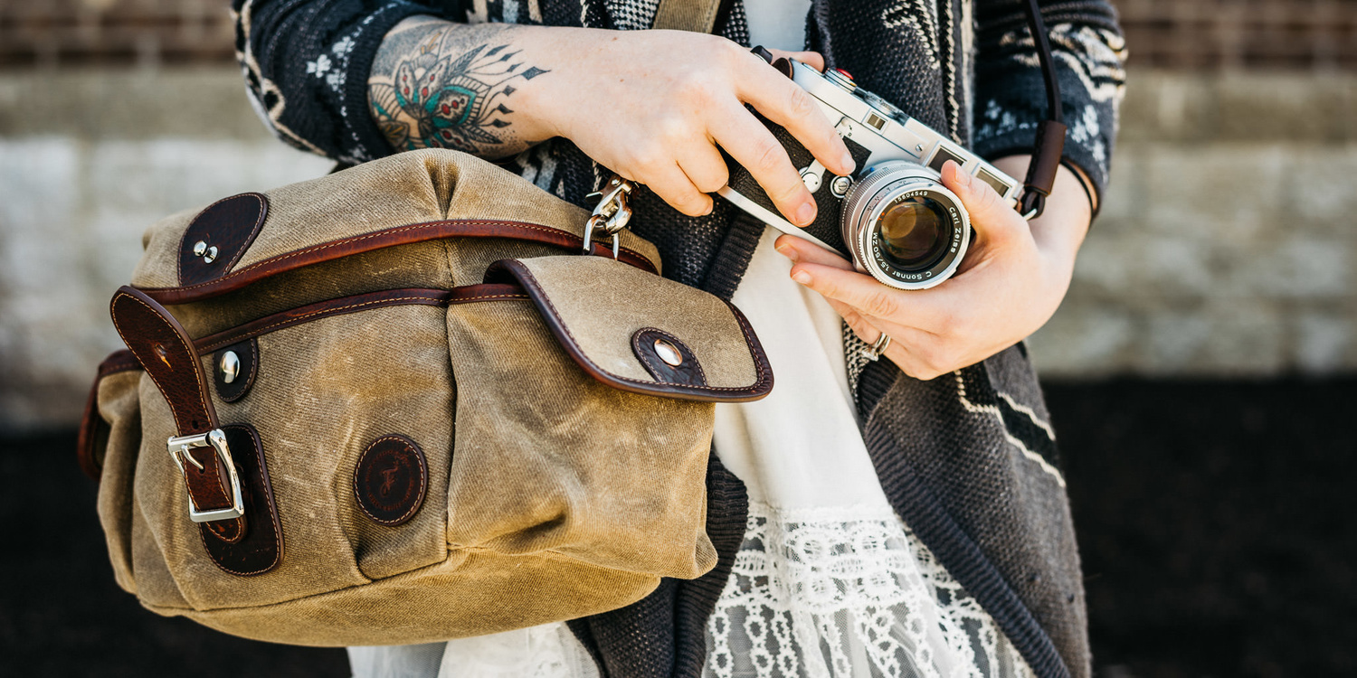 Holdfast + Fundy Streetwise Review: A Camera Bag for the